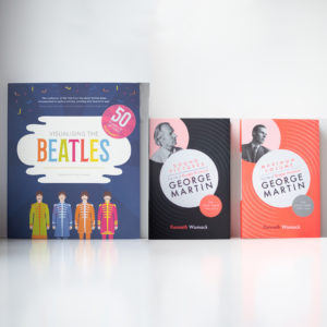 Beatles gift bundle of three books