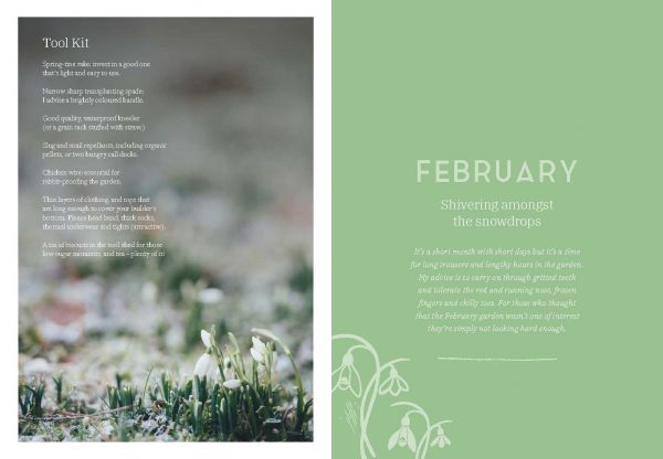 Diary of Modern Country Gardener Feb Internals