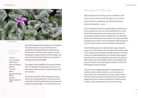 Diary of Modern Country Gardener Internal Spread 2