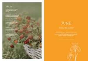 Diary of Modern Country Gardener June Internals